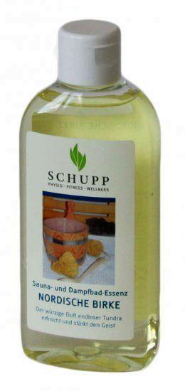 SCHUPP Sauna- und Dampfbadessenz Nordische Birke