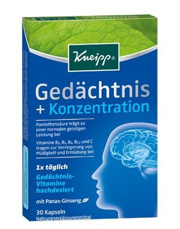 Kneipp® Gedächtnis + Konzentration