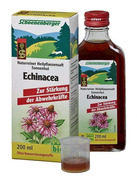 Naturreiner Heilpflanzensaft Echinacea
