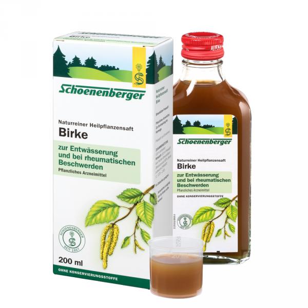Naturreiner Heilpflanzensaft Birke