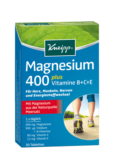 Kneipp Magnesium 400 plus Tabletten