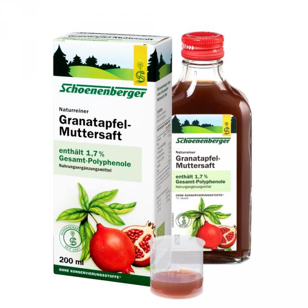 Naturreiner Muttersaft Granatapfel
