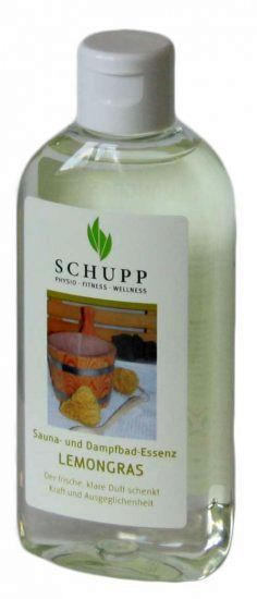 SCHUPP Sauna- und Dampfbadessenz Lemongras
