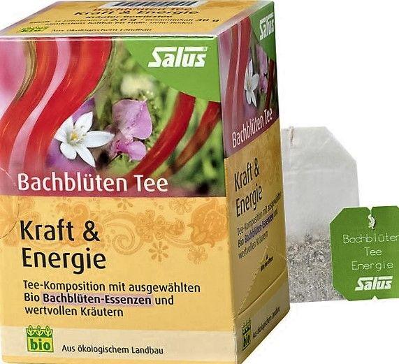 Salus Bachblüten Tee Kraft und Energie