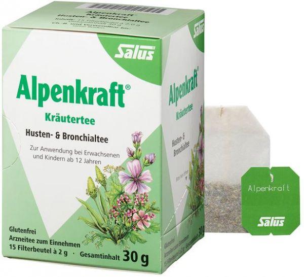 Salus Alpenkraft Bronchial-Husten-Tee