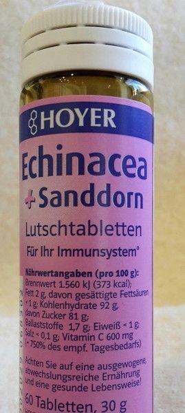 Echinacea & Sanddorn Kautabletten