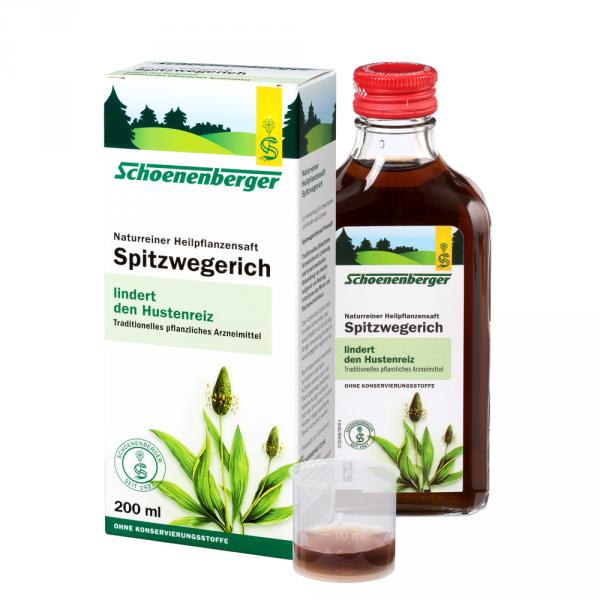 Naturreiner Heilpflanzensaft Spitzwegerich