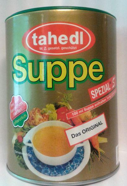 Delikatesse Suppe mit Allwürze