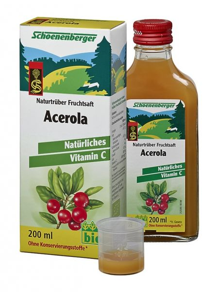Naturtrüber Fruchtsaft Acerola