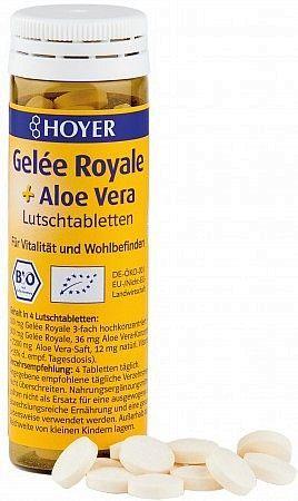 Gelee Royal & Aloe Vera Lutschtabletten