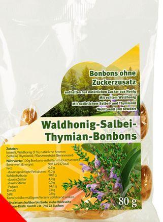 Waldhonig - Salbei - Thymian Bonbons