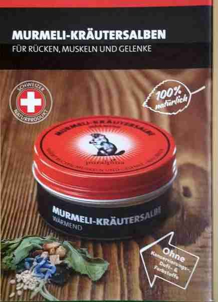 Murmeli Kräutersalbe -wärmend