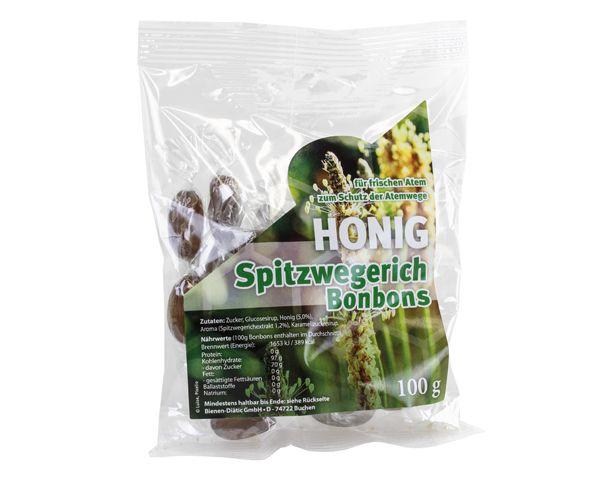 Spitzwegerich - Honig Bonbon